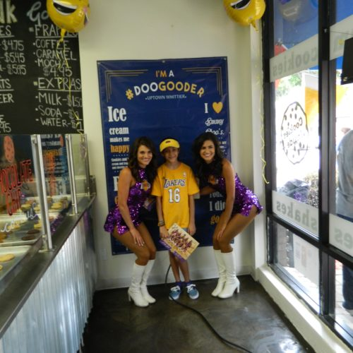 The Laker super fan.